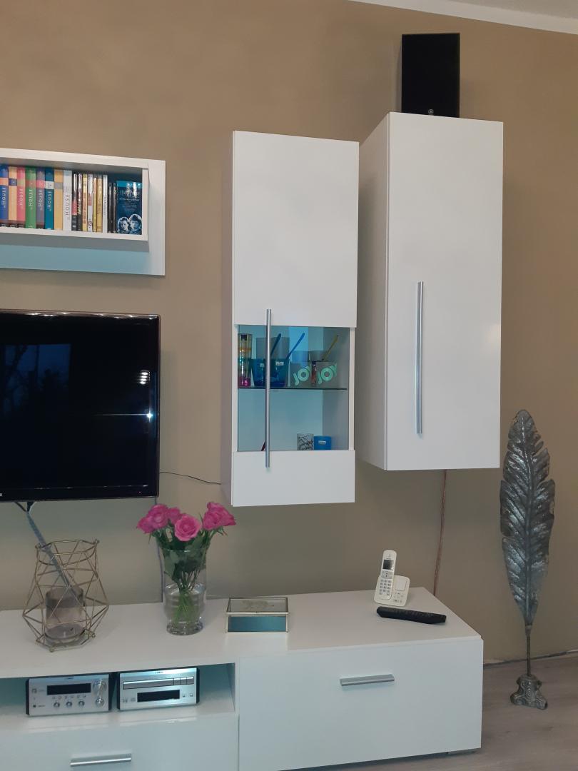 Einrichtung und Mobiliar - Wohnwand Schrank Wohnzimmer Schrank