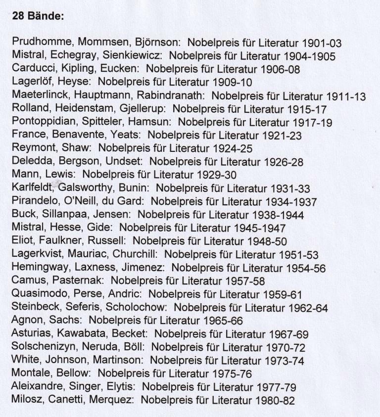 Literatur Nobelpreis 2021